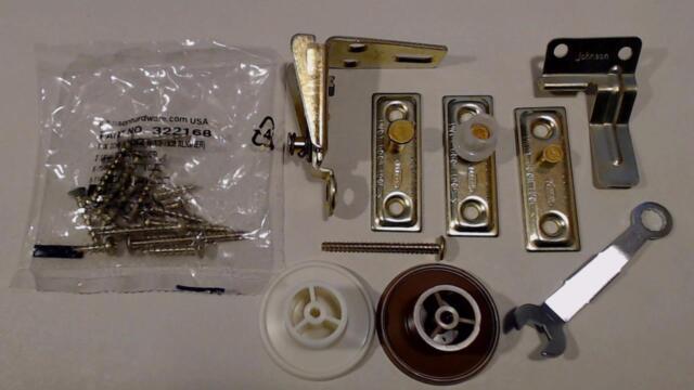 Johnson Stanley Folding Door Hardware Parts 1700 Series | eBay