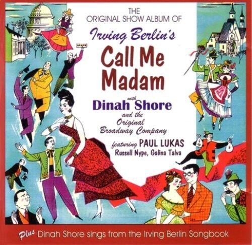 Dinah Shore - Call Me Madam [New CD] UK - Import