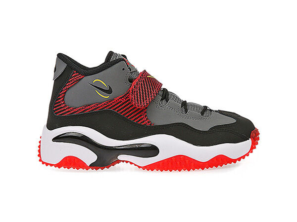 Nike Boys Kids Air Zoom Turf GS 643230-003 Black Grey Yellow University Red  7 | eBay