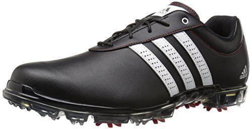Adidas Uomo adipure flex scarpa da golf nucleo nero / bianco / potere rosso 11 m