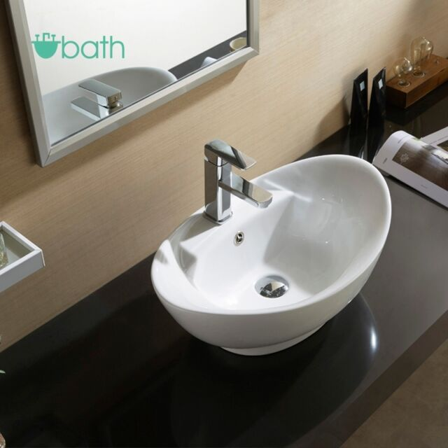 bathroom countertop for vessel sink waagee oval bathroom vessel sink vanity basin pop up drain 22054