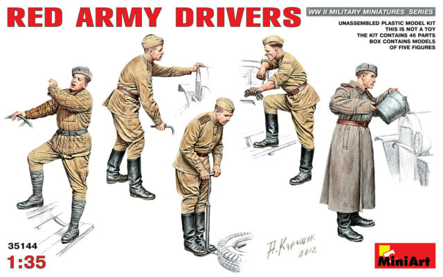1/35 MiniArt Red Army Drivers  MA35144