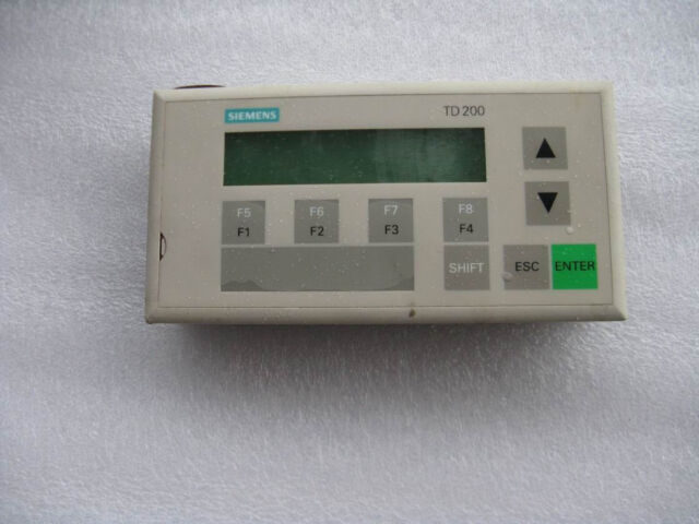 Siemens simatic td 200 text display for s7 200 6es7272 0aa20 0ya0 11500 sciox Image collections