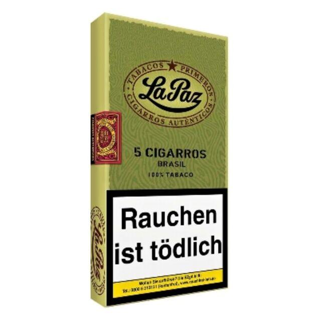 La Paz Wilde Cigarros Brasil 5 St(0,78€=1St) Primeros