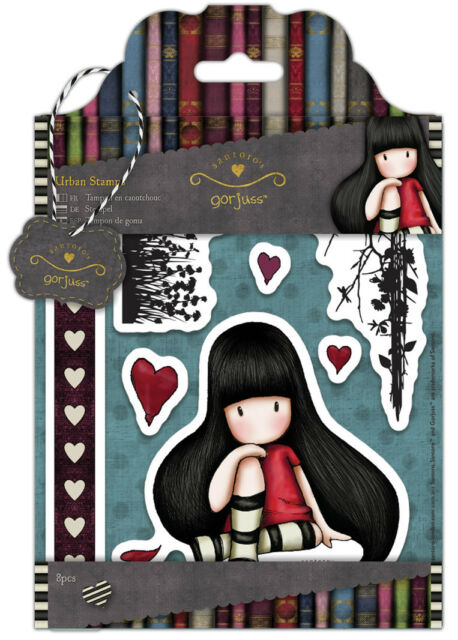 Docrafts Papermania urban rubber stamp set Santoro's Gorjuss The collector