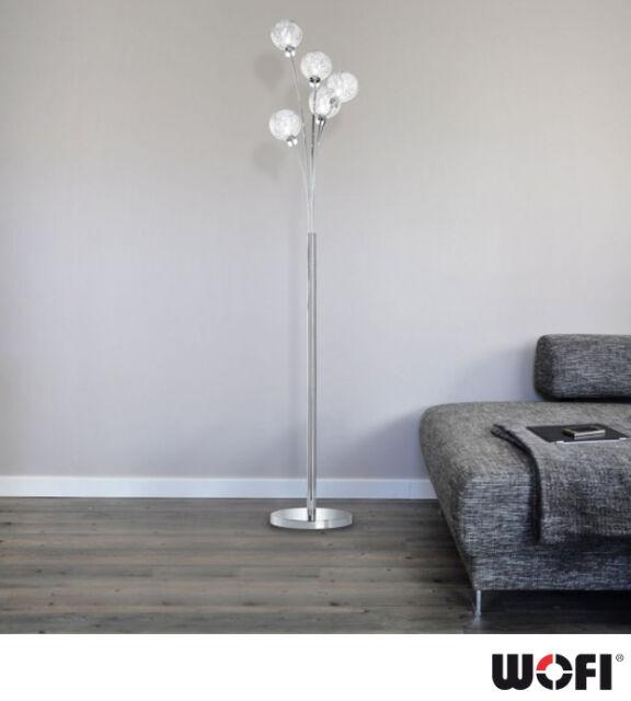 stylish designed verre 240 halogen floor lamp 170cm tall
