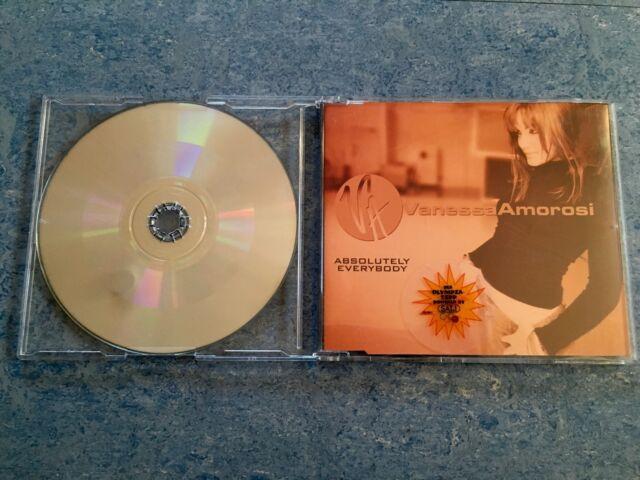 CD Single Vanessa Amorosi Absolutely Everybody 90s 90er 2000