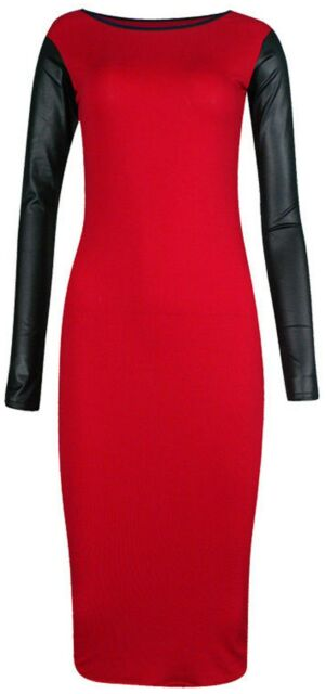 Midi bodycon dress size 20
