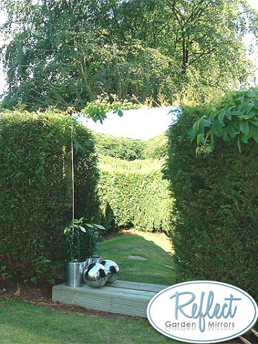 Marvelous Garden Mirror Acrylic Sheet 3mm Thick Plastic Mirrored Outdoor Illusion  Large