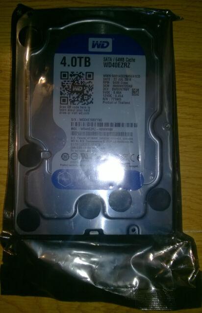WD Blue 4TB Desktop Hard Drive -5400 RPM SATA 6 Gb/s 64MB Cache 3.5 Inch