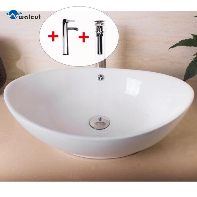 Oval Gold color Decor Porcelain Wash Basin Ceramic Countertop Bathroom Sink  bowl bathroom ceramic sinks