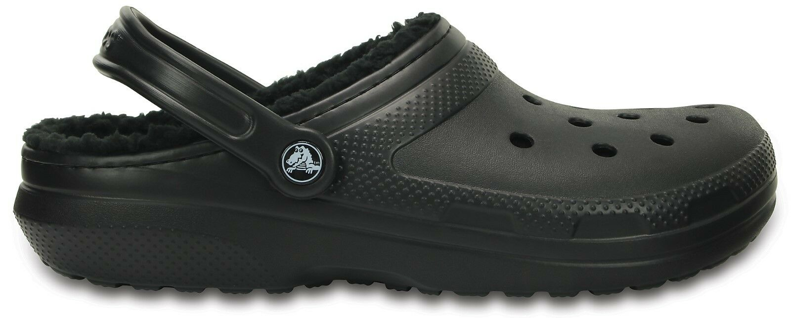 486c04ab355c Crocs Classic Lined Clog 203591 - 060 Black Unisex Shoes 21259302 M6 ...
