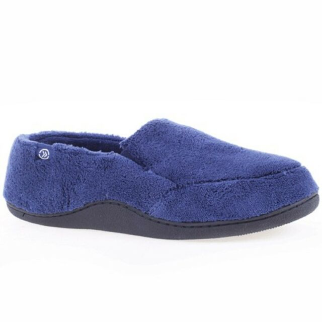 isotoner Men's Microterry ... Slip-On Slippers HSIqHWos