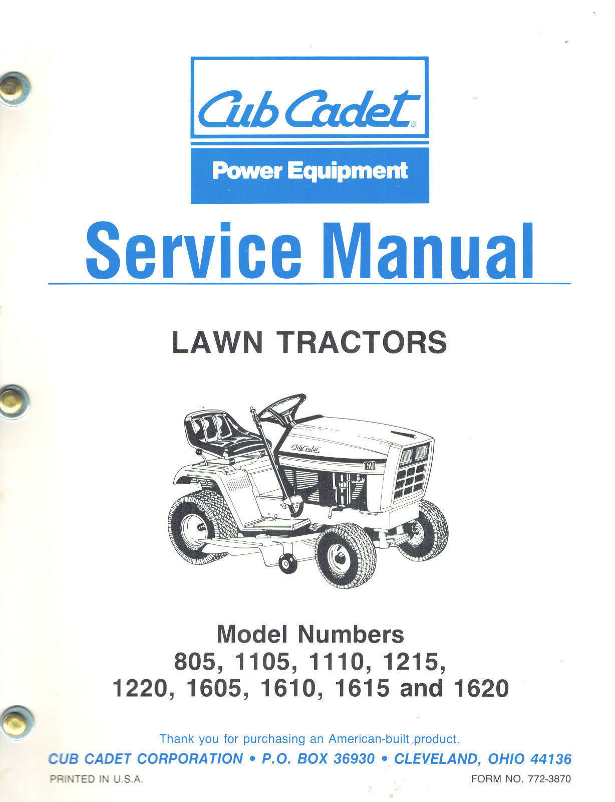 Cub Cadet 1220 Wiring Diagram Diagrams 1620 Schematic Drive Belt Tractor Engine Electrical Parts