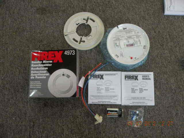 how to change smoke alarm battery firex