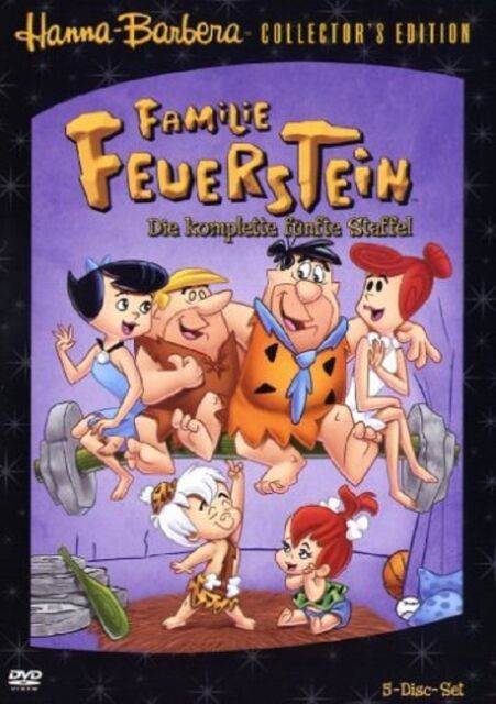 Familie Feuerstein - Season/Staffel 5 NEU OVP * 5 DVDs * Amaray * The Flinstone