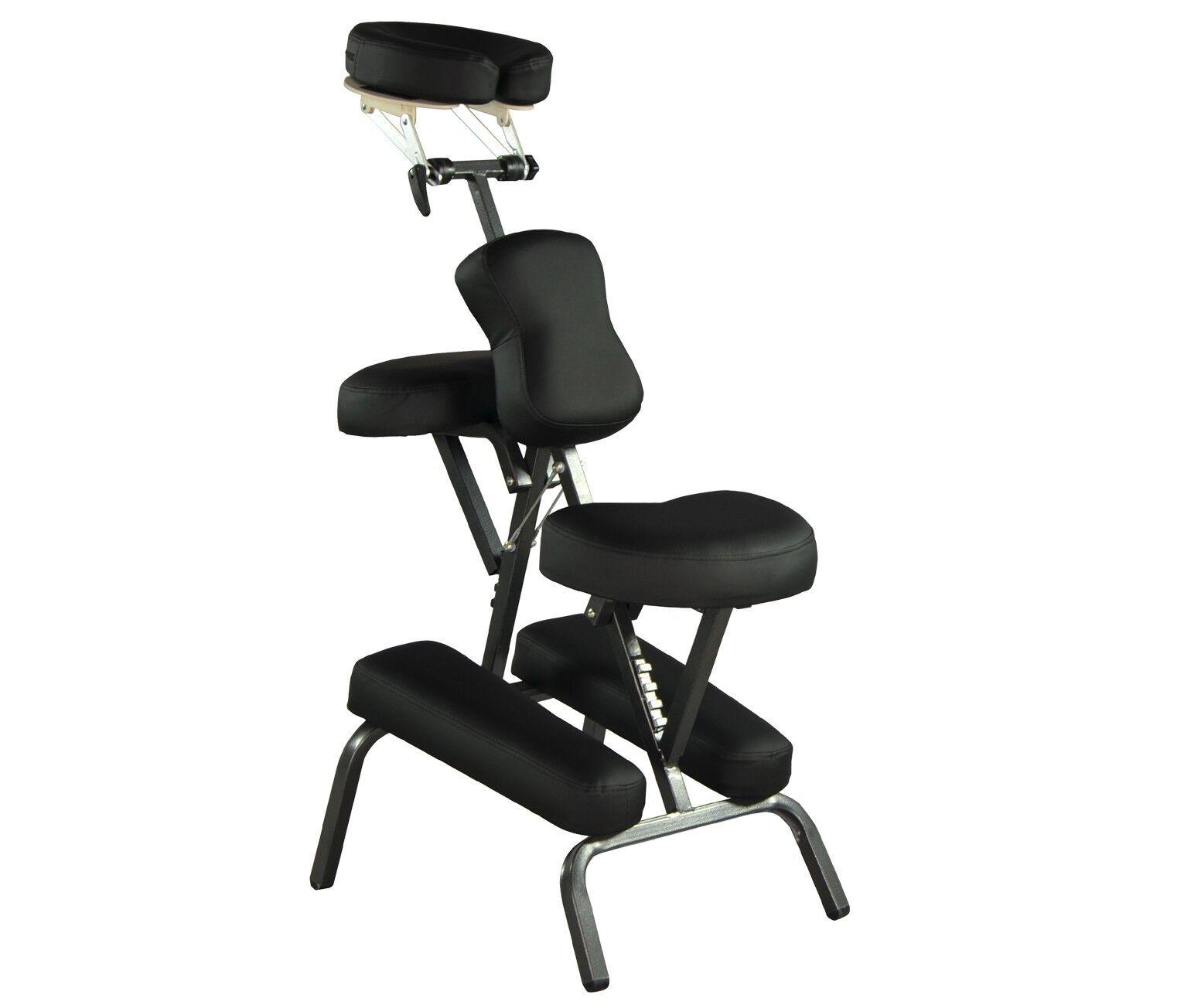 BestMassage BMC88BLACK Portable Massage Chair fort 4