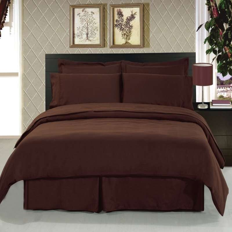 1000 Thread Count 100 Egyptian Cotton Bed Sheet Set Olympic Queen ...