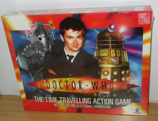 Doctor Who The Time Travelling Action Game. NEW & SEALED. 2006. BBC Dr who