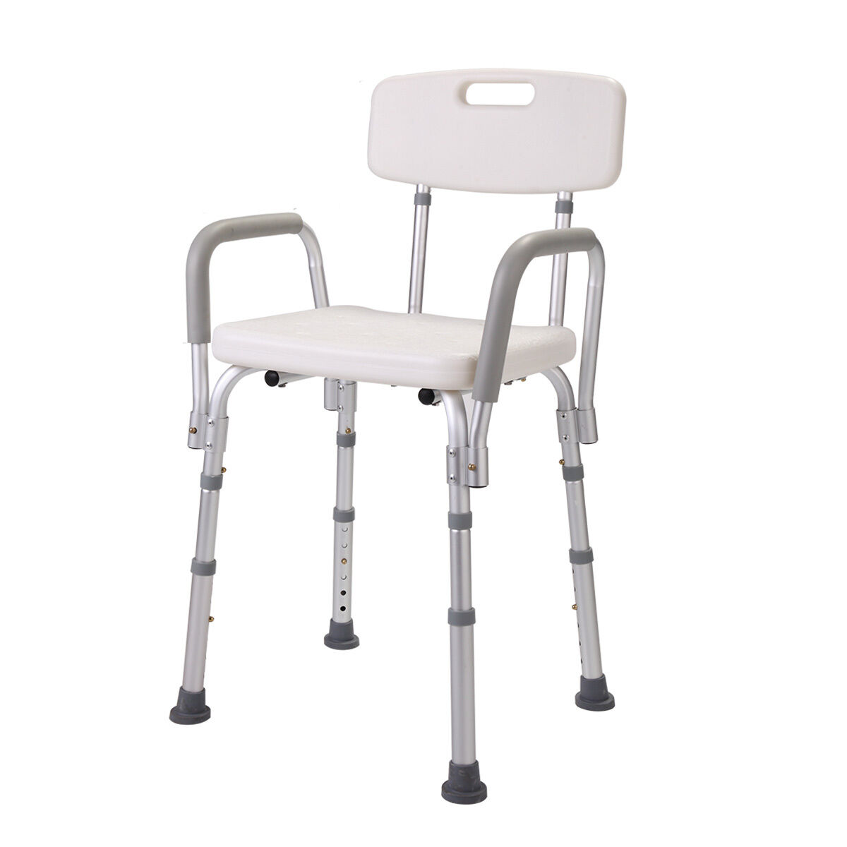 Height Adjustable Medical Shower Chair Bathtub Bench Bath Seat Stool ...