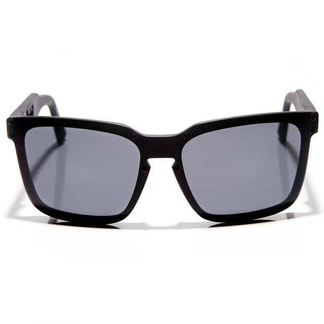 New Dragon Mansfield Sunglasses Matte Black/Grey Lens 720-2170 RRP $200