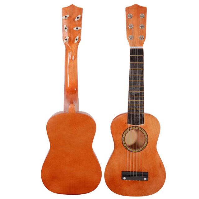 21 beginners practice 6 string acoustic guitar musical instruments kids coffee ebay. Black Bedroom Furniture Sets. Home Design Ideas