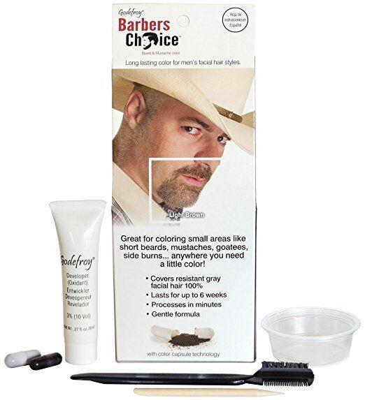 Godefroy 1105 Beard & Mustache Color Light Brown | eBay