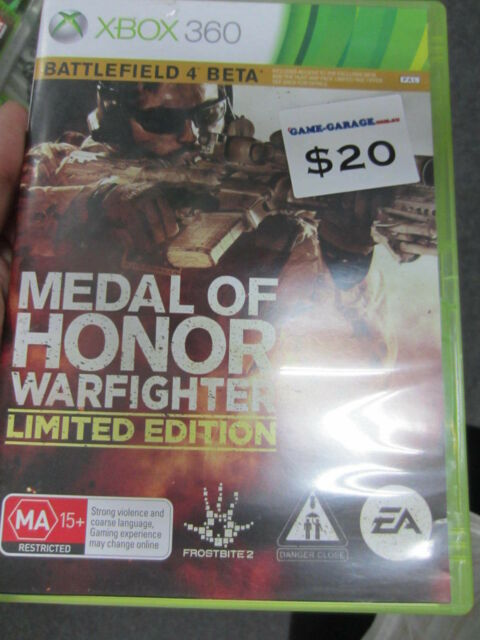Medal of Honor Warfighter Limited Edition Xbox 360 Game PAL