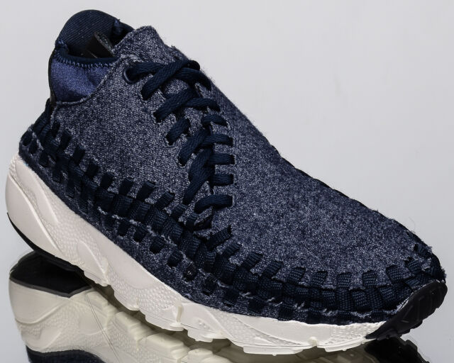 Nike Air Footscape Woven Chukka SE men lifestyle shoes NEW obsidian  857874-400