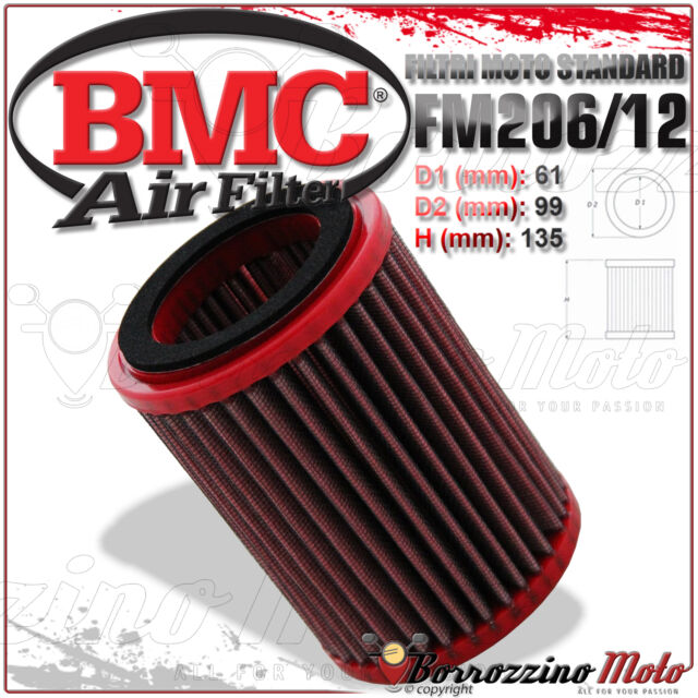 AIR FILTER BMC PERFORMANCE WASHABLE FM206/12 HONDA CBF 500 CBF500 2005