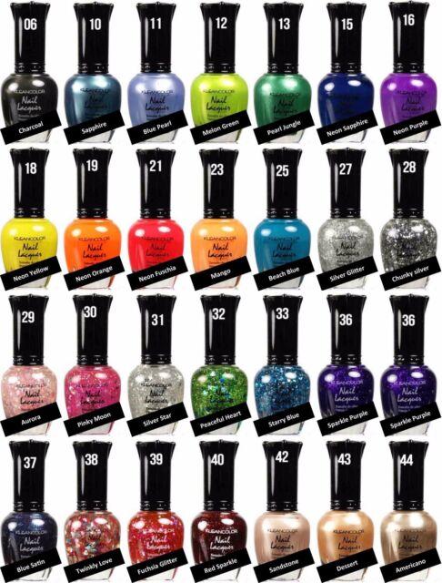 1 Klean Color KleanColor Nail Polish Lacquer Buy 3 Get 300 Colors | eBay