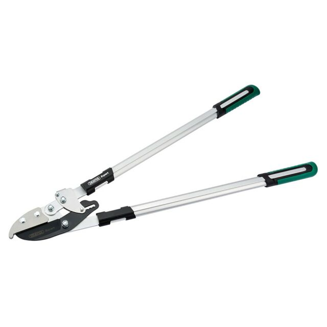 Draper Expert Soft Grip Ratchet Action Anvil Loppers With Steel Handles - 36832