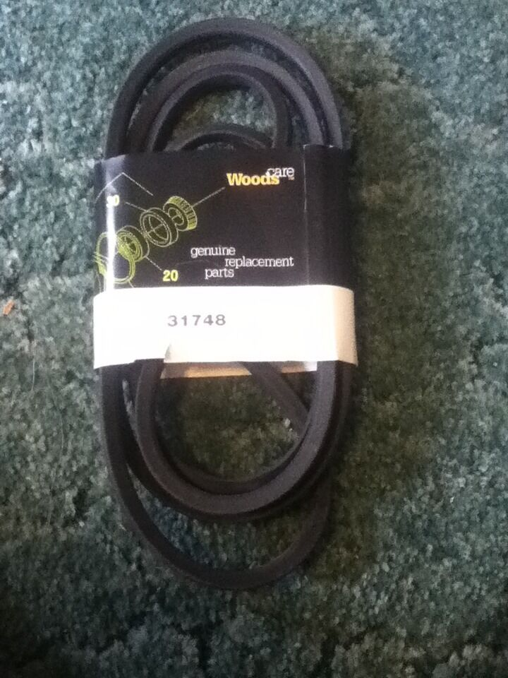 31748 Is A Deck Belt For A Woods 9180 9180 1 9204 9204 2 Rm48jd 2