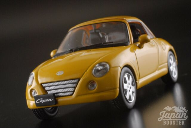 first43 1 43 daihatsu copen 2003 yellow ebay. Black Bedroom Furniture Sets. Home Design Ideas