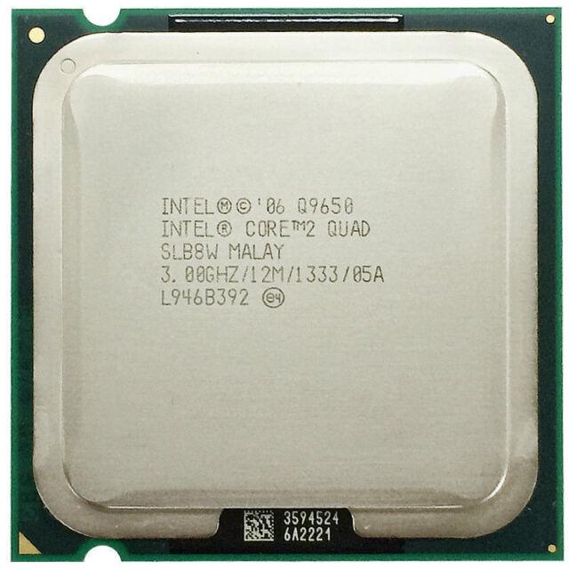 Intel Core 2 Quad Q9650 SLB8W 3,00GHz/12MB/1333 Socket/Sockel 775 CPU Prozessor