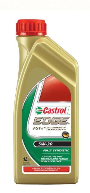 Aceite Castrol Edge FST 5W30 1 Litro - Lubricante Motor Coche Audi Mercedes 1L