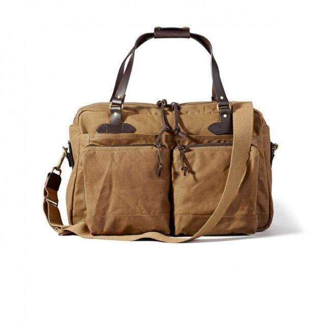 Filson 48 Hour Duffle Bag Dark Tan