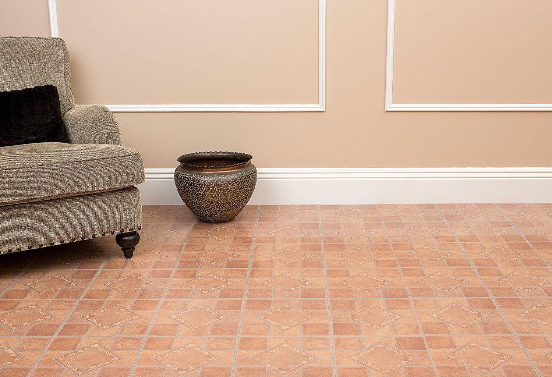 Vinyl floor tiles 20 pack flooring looks like real wood parquet picture 9 of 10 doublecrazyfo Images