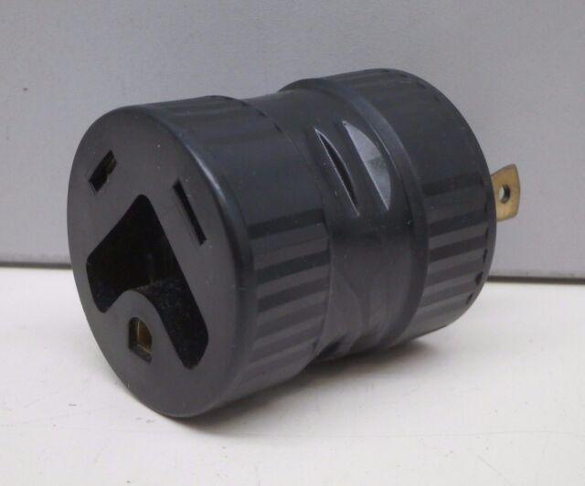 Marinco Female RV Tt-30r to Male L5-30p Locking Plug Power Adapter ...