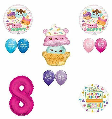 Num Noms 8th Birthday Party Supplies and Balloon Decorations eBay