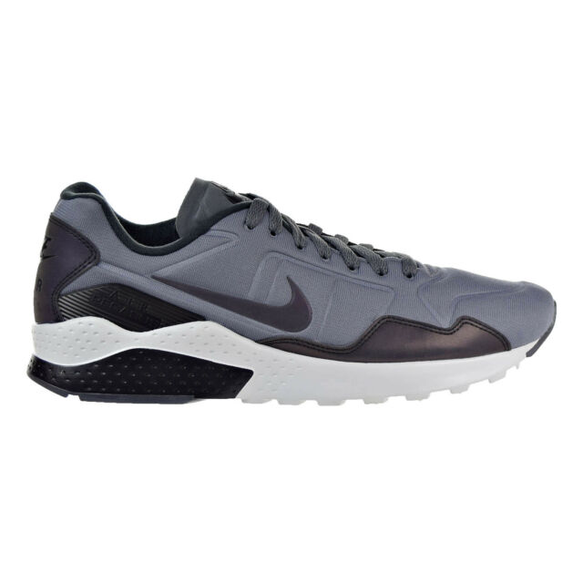 Nike Air Zoom Pegasus 92 Premium Men's Shoes Dark Grey/Black/Platinum  844654-