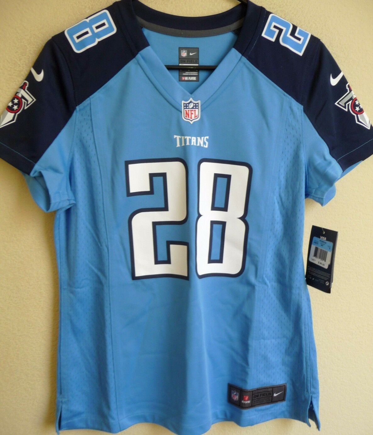Nike NFL Tennessee Titans Chris Johnson Women's Replica Jersey