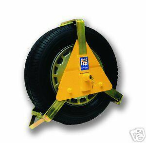 """STRONGHOLD SH5435 14-16"""" WHEEL CLAMP INSURANCE APPROVED"""