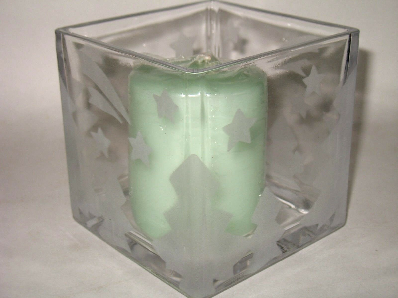 Winter frost candle holder glass block mikasa studio nova trees picture 1 of 9 reviewsmspy