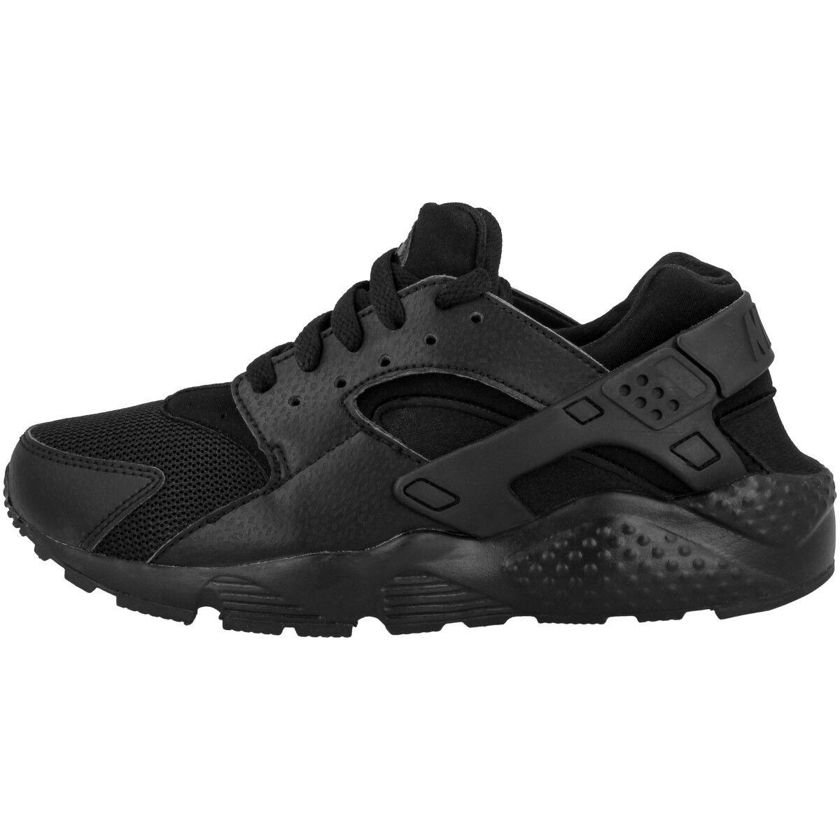 Nike Huarache Run GS GS Run 654275016 negro calzado 1a8c19