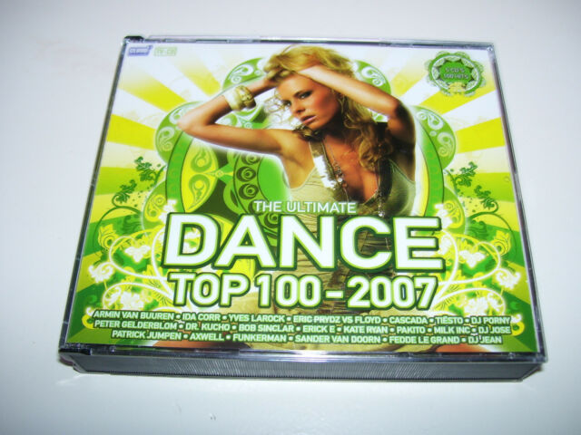 The Ultimate Dance Top 100 2007 * HOLLAND 5 CD BOX SET NEW *