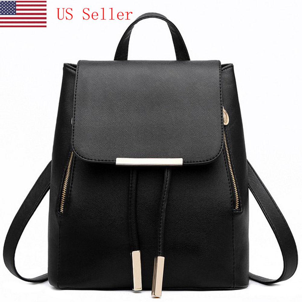 PU Leather Backpack   eBay