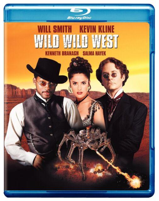 WILD WILD WEST (1999 Will Smith)  -  Blu Ray - Sealed Region free for UK