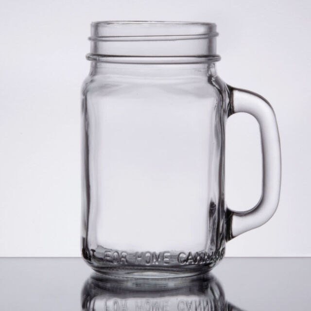 Ball Jar Drinking Glasses With Handles