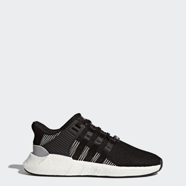 NIB MN ADIDAS BY9509 EQT SUPPORT 93/17 CORE BLACK RUNNING SNEAKERS SHOE $180
